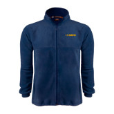 Fleece Full Zip Navy Jacket-UC DAVIS
