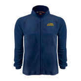 Fleece Full Zip Navy Jacket-UC DAVIS Aggies