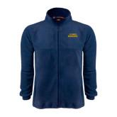 Fleece Full Zip Navy Jacket-UC DAVIS Aggies