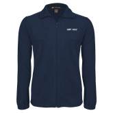 Fleece Full Zip Navy Jacket-School of Medicine