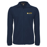 Fleece Full Zip Navy Jacket-School of Law