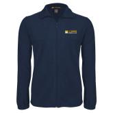 Fleece Full Zip Navy Jacket-School of Law