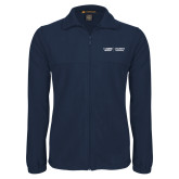 Fleece Full Zip Navy Jacket-UC Davis Childrens Hospital