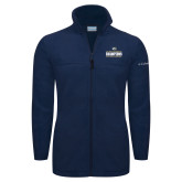 Columbia Full Zip Navy Fleece Jacket-Big West Mens Basketball Tournament Champions