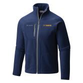 Columbia Full Zip Navy Fleece Jacket-UC DAVIS