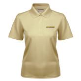 Ladies Vegas Gold Dry Mesh Polo-Aggie Pride w/ Tagline