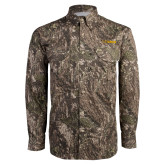 Camo Long Sleeve Performance Fishing Shirt-UC DAVIS