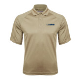 Vegas Gold Textured Saddle Shoulder Polo-UC DAVIS