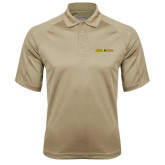 Vegas Gold Textured Saddle Shoulder Polo-Aggie Pride