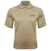 Vegas Gold Textured Saddle Shoulder Polo-Aggie Pride w/ Tagline