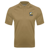 Vegas Gold Textured Saddle Shoulder Polo-Primary Mark