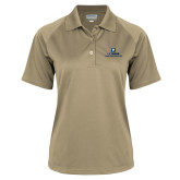 Ladies Vegas Gold Textured Saddle Shoulder Polo-Veterinary Medicine