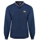 Navy Executive Windshirt-Official Logo