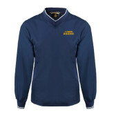 Navy Executive Windshirt-UC DAVIS Aggies