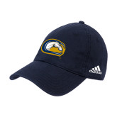 Adidas Navy Slouch Unstructured Low Profile Hat-Official Logo