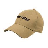 Vegas Gold Heavyweight Twill Pro Style Hat-School of Medicine