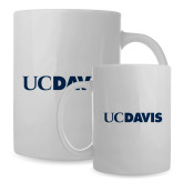 Full Color White Mug 15oz-UC DAVIS
