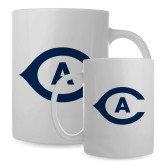 Full Color White Mug 15oz-Secondary Athletics Mark