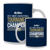 Full Color White Mug 15oz-Big West Mens Basketball Tournament Champions