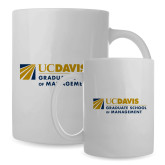 Full Color White Mug 15oz-Graduate School of Management Stacked