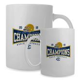 Full Color White Mug 15oz-2018 Football Conference Champions