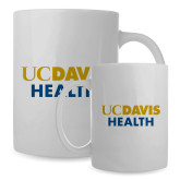 Full Color White Mug 15oz-UC Davis Health