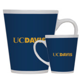 12oz Ceramic Latte Mug-UC DAVIS