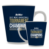 12oz Ceramic Latte Mug-Big West Mens Basketball Tournament Champions