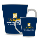 Full Color Latte Mug 12oz-Graduate School of Management Stacked