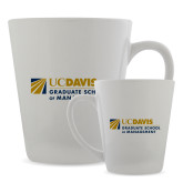 Full Color Latte Mug 12oz-Graduate School of Management Flat