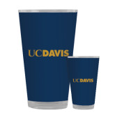 Full Color Glass 17oz-UC DAVIS