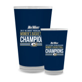 Full Color Glass 17oz-Big West Conference 2017 Regular Season Womens Basketball Champions Stacked