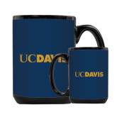 Full Color Black Mug 15oz-UC DAVIS