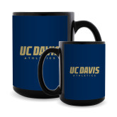 Full Color Black Mug 15oz-Primary Athletics Mark