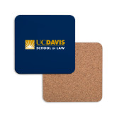 Hardboard Coaster w/Cork Backing-School of Law