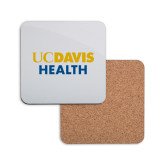 Hardboard Coaster w/Cork Backing-UC Davis Health
