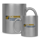 Full Color Silver Metallic Mug 11oz-Graduate School of Management Flat