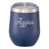 Corzo Vacuum Insulated Navy Cup 12oz-Official Artwork Engraved
