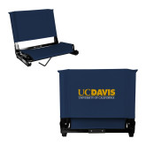 Stadium Chair Navy-UC DAVIS U of C
