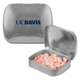 Silver Rectangular Peppermint Tin-UC DAVIS