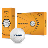 Callaway Warbird Golf Balls 12/pkg-UC DAVIS