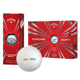 Callaway Chrome Soft Golf Balls 12/pkg-School of Medicine