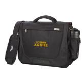 High Sierra Black Upload Business Compu Case-UC DAVIS Aggies