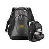 Wenger Swiss Army Tech Charcoal Compu Backpack-UC DAVIS Aggies