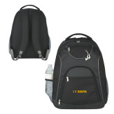The Ultimate Black Computer Backpack-UC DAVIS