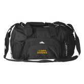 High Sierra Black Switch Blade Duffel-UC DAVIS Aggies