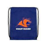 Royal Drawstring Backpack-Primary Logo