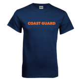 Navy T Shirt-Coast Guard