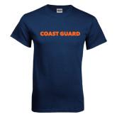 Navy T Shirt-Coast Guard