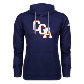 Adidas Climawarm Navy Team Issue Hoodie-Secondary Logo